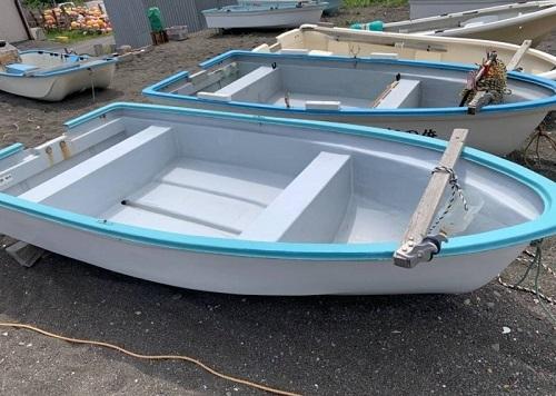 北海道伊達市レンタル釣り船、ヒラメ・カレイ・シャケ釣りの黄金マリン、手漕ぎボート画像