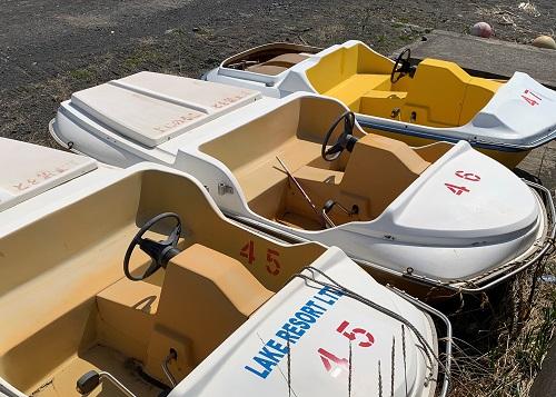 黄金マリンレンタル足漕ぎボート